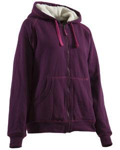 Berne Women's Zip-Front Hooded Sweatshirt, , hi-res