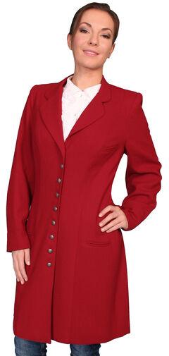 WahMaker by Scully Women's Crepe Wool Frock Coat, , hi-res