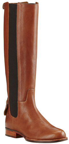 Ariat Women's Caramel Waverly Tall Boots - Round Toe , , hi-res