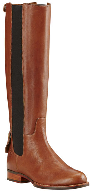Ariat Women's Caramel Waverly Tall Boots - Round Toe , Brown, hi-res