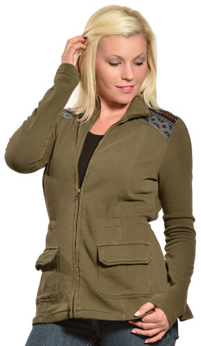Others Follow Women's Hendrix Jacket, Olive, hi-res