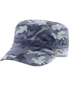 Carhartt Women's Deep Blue Camo El Paso Military Cap , , hi-res