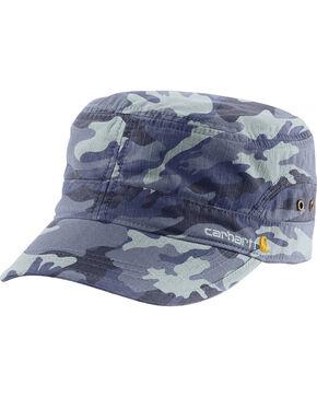 Carhartt Women's Deep Blue Camo El Paso Military Cap , Camouflage, hi-res