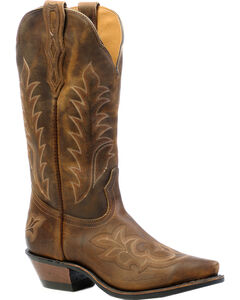 Boulet Selvaggio Wood Cowgirl Boots - Snip Toe, , hi-res