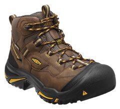 Keen Men's Braddock Mid Waterproof Boots - Steel Toe, , hi-res