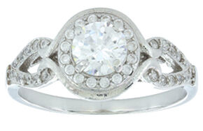 Montana Silversmiths Women's Bella Nova Ring, Silver, hi-res