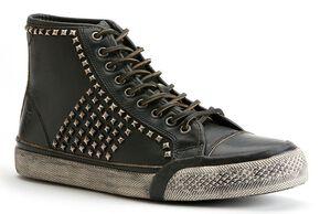 Frye Men's Greene Studded Tall Shoes, Black, hi-res