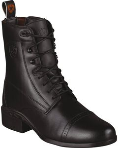 Ariat Heritage Paddock Riding Boots - Round Toe, , hi-res