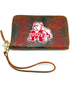 Gameday Boots Mississippi State University Leather Wristlet, , hi-res