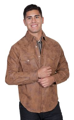 Scully Leather Shirt Jacket, , hi-res