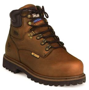 "Georgia 6"" Work Boots - Steel Toe, Briar, hi-res"