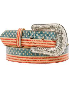 Blazin Roxx American Flag Belt, , hi-res