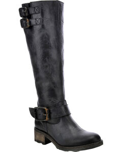 Corral Circle G Tall Engineer Cowgirl Boots - Round Toe, , hi-res