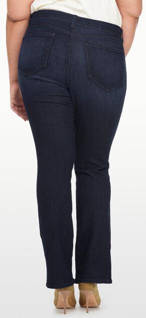 NYDJ Women's Billie Mini Bootcut Premium Denim Jeans - Plus Size, Indigo, hi-res