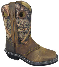 Smoky Mountain Boys' Pawnee Western Boots - Square Toe, , hi-res