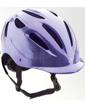 Ovation Women's Protege Riding Helmet, Purple, hi-res