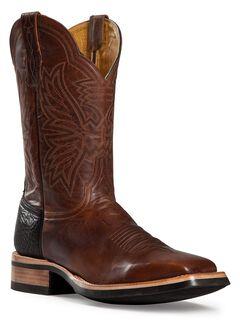 Cinch Classic Goatskin Cowboy Boots - Square Toe, , hi-res
