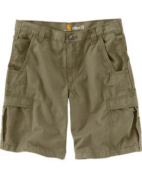 Carhartt Men's Olive Mosby Cargo Shorts, Olive, hi-res