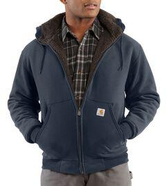 Carhartt Brushed Fleece Sherpa Lined Jacket - Big & Tall, , hi-res