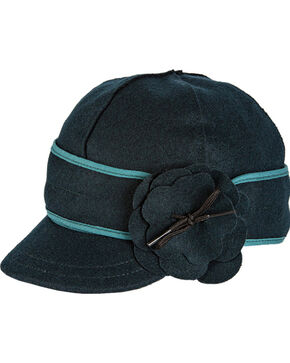 Stormy Kromer Women's Blue Spruce Petal Pusher Cap, Multi, hi-res