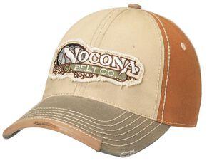 Nocona Logo Patch Cap, Natural, hi-res
