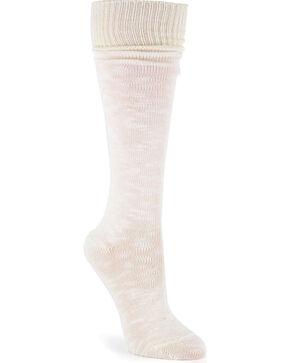 La De Da Women's Slouchy Boyfriend Socks, Cream, hi-res