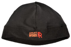 Ariat Men's Black FR Polartec Work Beanie, , hi-res