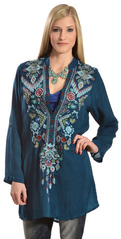 Johnny Was Women's Chayanna Blouse, , hi-res