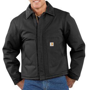 Carhartt Duck Traditional Jacket, Black, hi-res