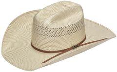Twister 10X Shantung Straw Cowboy Hat, , hi-res
