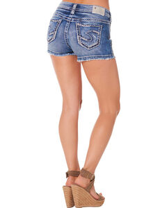 Silver Women's Aiko Mid-Rise Shorts, , hi-res