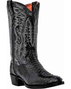 Dan Post Men's Omaha Python Cowboy Boots - Round Toe, , hi-res