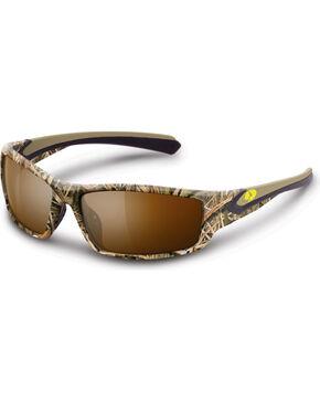 Mossy Oak Ridgeline Polarized Sunglasses, Camouflage, hi-res