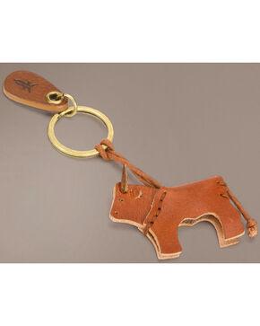 Frye Bull Key Fob, Brown, hi-res
