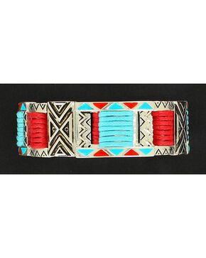Blazin Roxx Double Strand Tribal Bracelet, Multi, hi-res