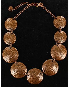 Blazin Roxx Copper Round Necklace, Copper, hi-res