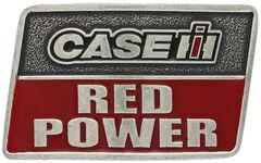 Montana Silversmiths Case IH Red Power Attitude Belt Buckle, , hi-res