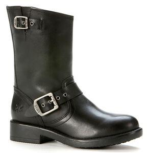 Frye Boys' Engineer Pull-On Boots, Black, hi-res