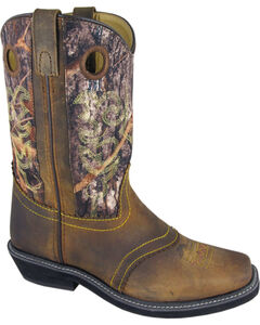 Smoky Mountain Pawnee Camo Cowgirl Boots - Square Toe, , hi-res