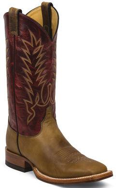 Justin Tan Damiana Cowboy Boots - Square Toe, , hi-res