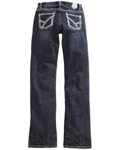 Tin Haul Women's Mimi X-Boyfriend Straight Leg Thick Stitch Jeans, , hi-res