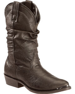 Dingo Slouch Cowboy Boots - Round Toe, , hi-res