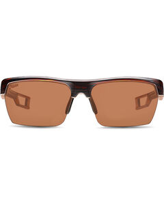 Hobie Men's Copper and Satin Brown Manta Polarized Sunglasses , , hi-res