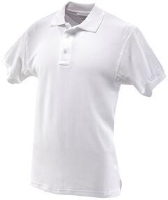 Tru-Spec Men's 24-7 Series Classic Cotton Polo Shirt, White, hi-res