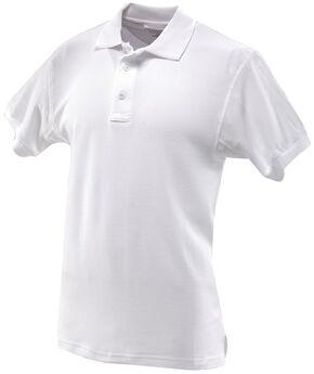 Tru-Spec Men's 24-7 Series Classic Cotton Polo Shirt - Extra Large Sizes (2XL - 5XL), White, hi-res