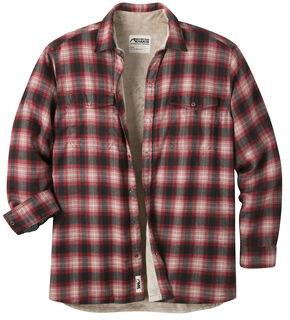 Mountain Khakis Men's Christopher Fleece Lined Shirt, Red, hi-res