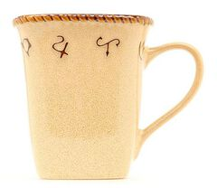 Rustic Ranch Ceramic Mugs - Set of 4, , hi-res