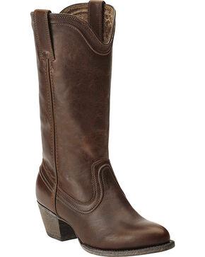 Ariat Women's Bluebell Boots - Medium Toe, Dark Brown, hi-res