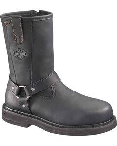 Harley Davidson Men's Bill Harness Boots - Steel Toe, , hi-res