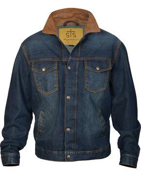 STS Ranchwear Men's The Jumper Jacket - Big & Tall, Indigo, hi-res